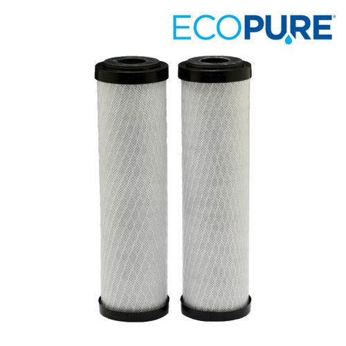 EcoPure Carbon Block Whole Home Universal Filter 2-Pack