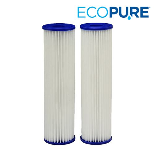 EcoPure Pleated Whole House Replacement Water Filter