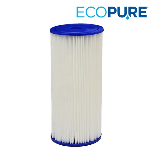 EcoPure Universal Fit Pleated Large Capacity Whole House Water Filter