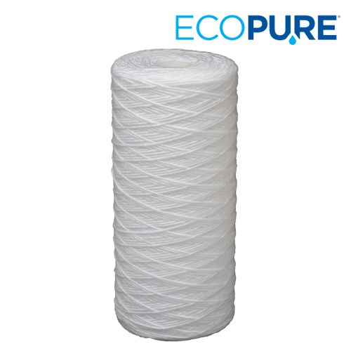 EcoPure Universal Fit String Wound Large Capacity Whole House Water Filter