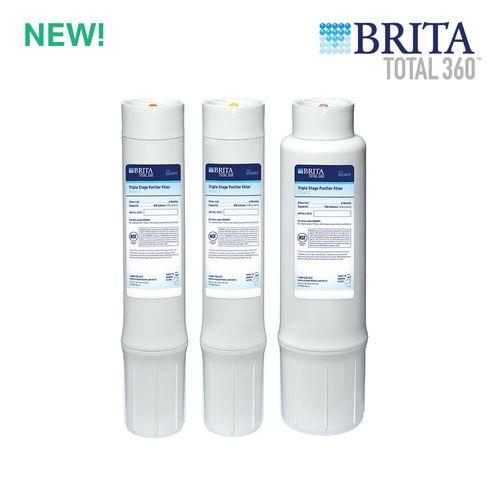 Brita Total360 3-Stage Water Filter Replacement Set