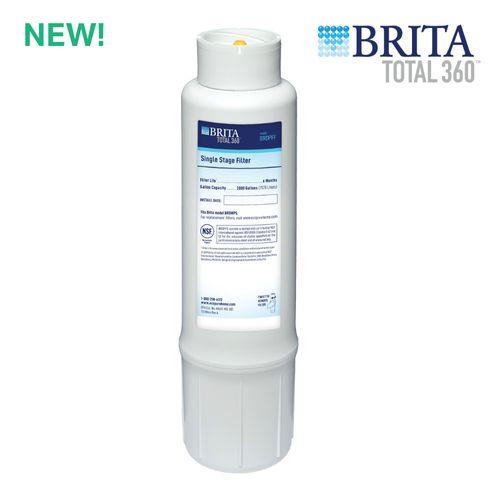 Brita Total360 Kitchen + Bathroom Under Sink Replacement Water Filter