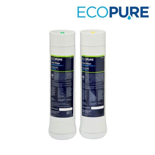 EcoPure ECODWF Undersink Filter Set