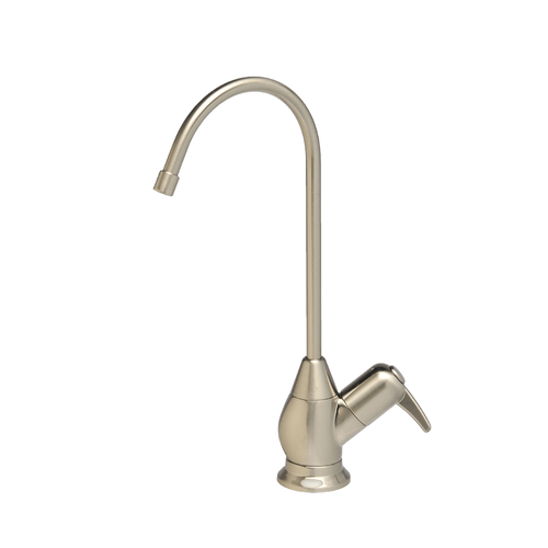 Brushed Nickel Faucet with Air Gap