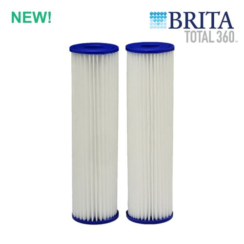 Brita Total360 Pleated Poly Whole House Replacement Cartridges (2-Pack)