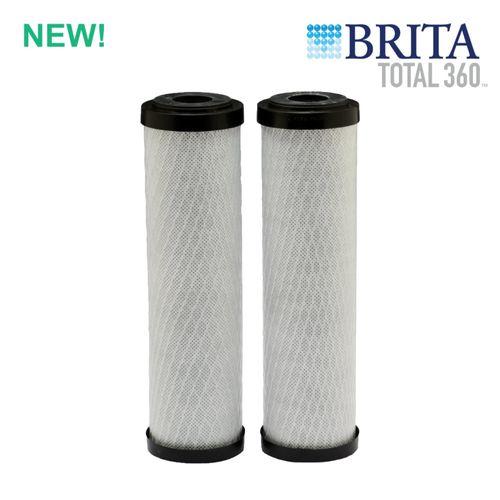 Brita Total360 Carbon Block Standard Capacity Replacement Water Filters (2-Pack)