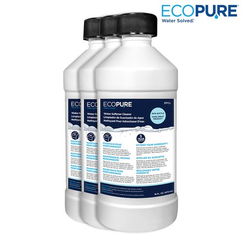 EcoPure Water Softener Cleaner (3 Pack)