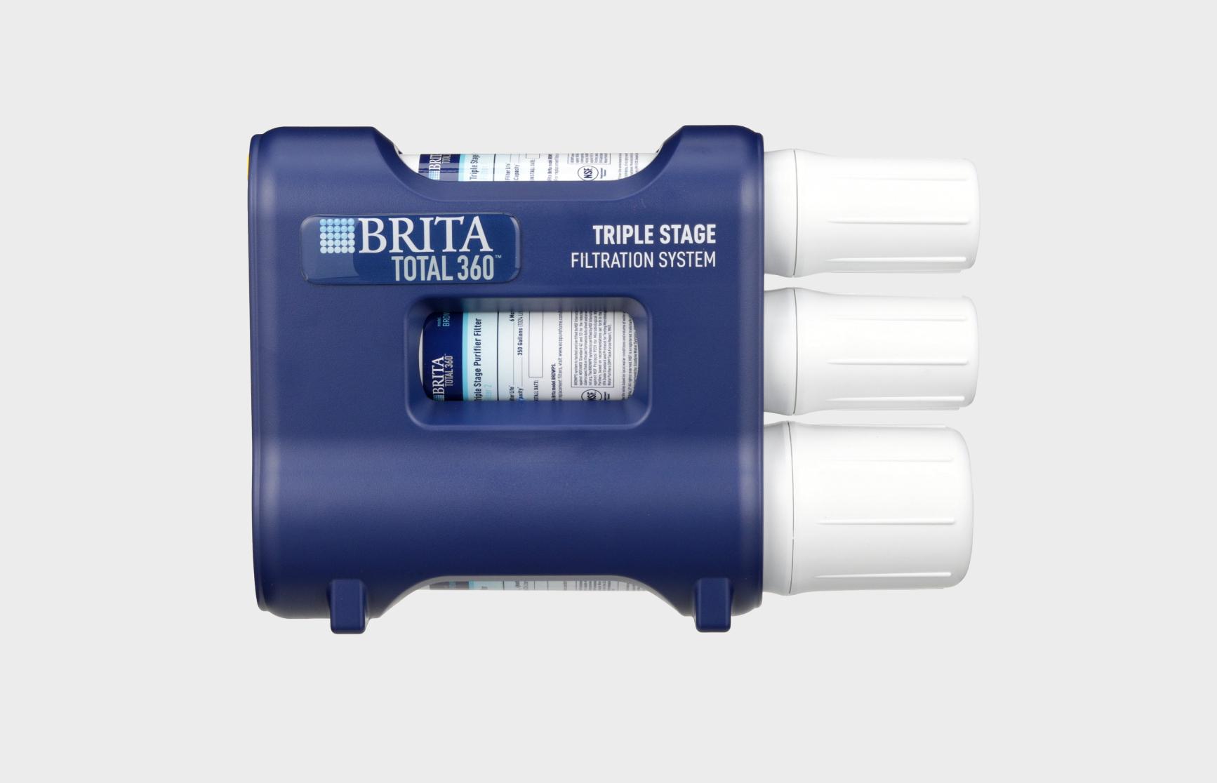 brita total360 three stage undersink filter system